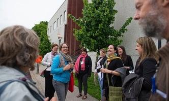 People on community walk-069639-edited