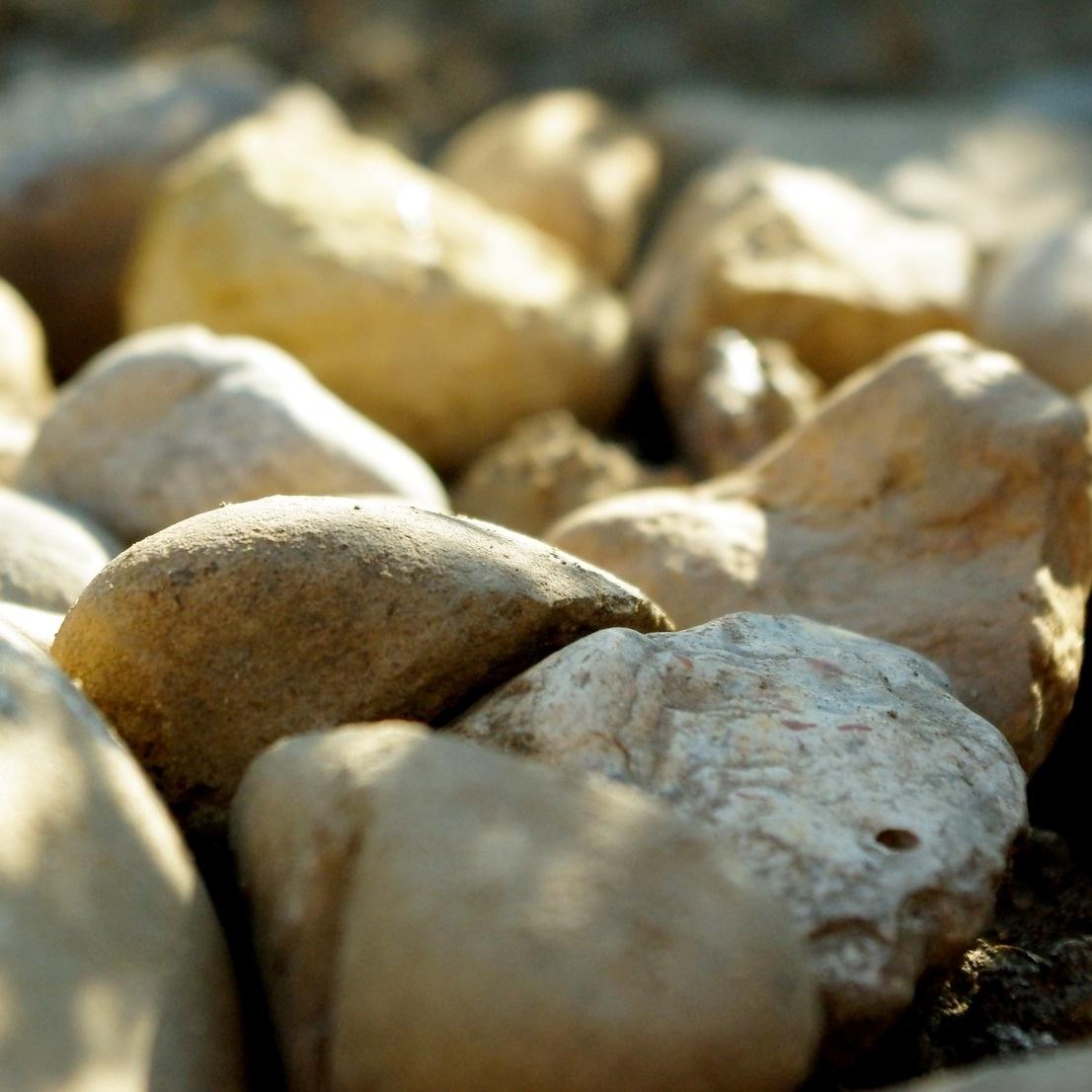 stones nature light rocks square