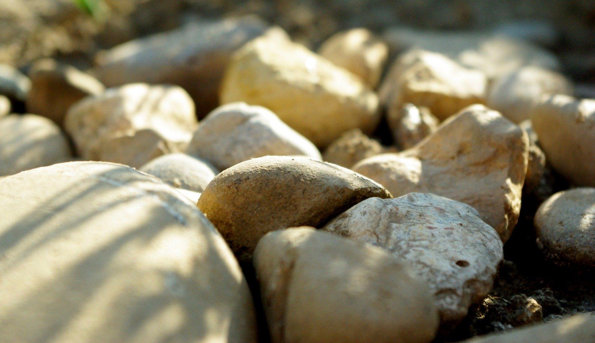 stones nature light rocks